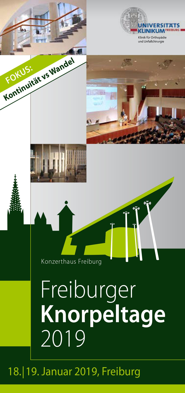 Knorpeltage 2019 Hauptprogramm